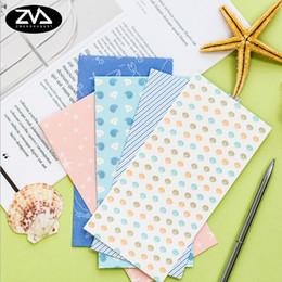5pcs Lot Marine Style Series Paper Envelope Writing Stationery Kawaii Birthday Christmas Card Envelopes School Supplies