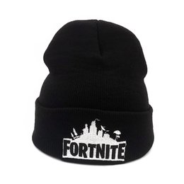 Fortnite Winter fortnite game hat Men cap Beanie Knitted Hip Hop Winter Hats  For Women Fashion Warm Skullies Bonnet Gorro 05594689f053