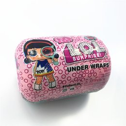 new11cm Series 4 Under Wraps Doll Magic Egg Ball Figura de acción Juguete Niños DresUnpas Up Gift.