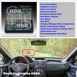 $enCountryForm.capitalKeyWord Australia - Car Information Projector Screen For Renault Duster   Dacia Duster 2010~2014 - Driving Refkecting Windshield HUD Head Up Display