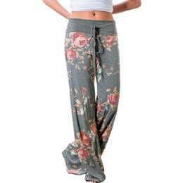 Chinese  Pants Women 2018 New Arrival Strappy Casual Pants European Fashion Strappy Camouflage Flower Printed Dropshipping OYM0447 manufacturers
