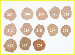 Buena calidad Caja roja Funda Base Corrector Base Base Profesional Maquillaje de cara Paleta de contorno Base de maquillaje Tatoo Corrector de la piel