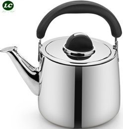 Steel Induction Canada - Water Bottle kettle pot stainless steel gas induction cooker thick honking teapot WATER KETTLE POT TEAKETTLE