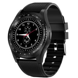 $enCountryForm.capitalKeyWord NZ - L9 TFT LCD Touch Screen Wristwatch Bluetooth Sports Pedometer Smart Watch Support SIM Card 0.3 MP Camera Support SIM Card