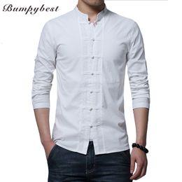 $enCountryForm.capitalKeyWord NZ - Bumpybeast brand 2017 hot Long sleeve Kung Fu Shirt Classic Chinese Style Tang Clothing Size M L XL XXL XXXL 4XL hombre Camisa