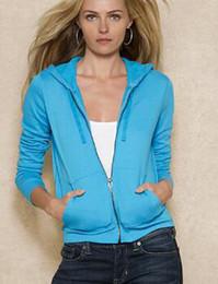 $enCountryForm.capitalKeyWord Australia - Collect USA Women Polo Tracksuits With Horse Cotton Long Sleeve Solid Sweatshirts Sweatpants Jogging Running Hoodies Coats Pants S-XL