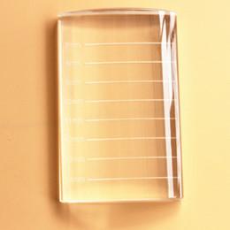 False Eyelash Wholesale NZ - U Bend Curved Crystal False Eyelashes Stand Pad Pallet Lashes Holder Fake Lashes Extension Essential Tool