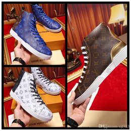 Boot Tennis Shoes Canada - 2017 Designer Luxury Casual Brand Superstar Tennis Krasovki Trainers Boots Hip Hop Street Style High Top Shoe For Men Size 38-44