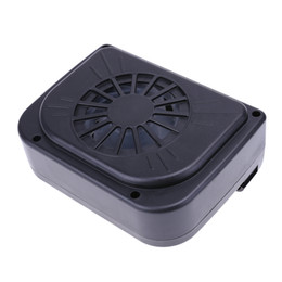 China Mini Solar Sun Powered 0.3W Car Interior Cooler Fan Vehicle Air Radiator Ventilation System Auto Air Vent Windshield Cooling Fan supplier solar car cooling suppliers
