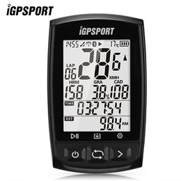 Bike computers gps online shopping - iGPSPORT iGS50E Bluetooth Wireless GPS Bike Computer s fast positioning instantly grasp the time location speed