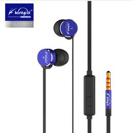 $enCountryForm.capitalKeyWord Australia - Koniycoi KJ-901 Earphone Volume Control Metal Headset In-Ear 3.5mm Stereo Earbuds with Mic for Xiaomi Iphone Fone de ouvido