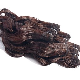 Professional Hair Weave UK - Professional Dark Brown Color Brazilian Body Wave Hair Products 10-30 Inchs Brazilian Virgin Hair Extensions 100% Human Hair Weave 1pcs 100g