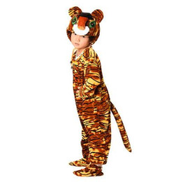 $enCountryForm.capitalKeyWord UK - 2018 New style children Cosplay Colored tiger Red Lobster Animal perform clothing Boys and girls Dance clothes