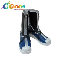 Discount sora cosplay - CGCOS Free Shipping Cosplay Shoes Kingdom Hearts Sora Boots Game Manga Anime Halloween Christmas