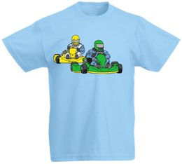 kids games race UK - Kart Game Car Race Driving Driver Drive Fast Party Kids T Shirt New T Shirts Funny Tops Tee New Unisex Free Shipping