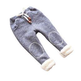 Discount leggings children warm velvet - Cola autumn baby girls winter leggings children plus thick velvet pants casual trousers kids warm girl christmas pants