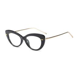 4318fde180c Mincl Cat sexy women myopia glasses frame comfortable reading glasses frame  fashion custom graduate with case YXR