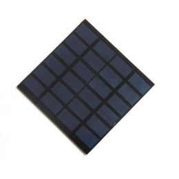 BUHESHUI 1.5W 6V Solar Cell Module Polycrystalline PET Solar Panel Charger For Battery Education Kits 110*110*2MM 10pcs lot Free Shipping from mppt charger controller suppliers