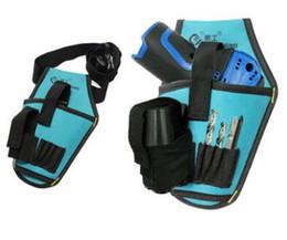 Fibbia professionale del nastro del lavoro di utilità del sacchetto della  cinghia di vita della borsa dello strumento dell elettricista della borsa  per ... 5fd8c0acbde