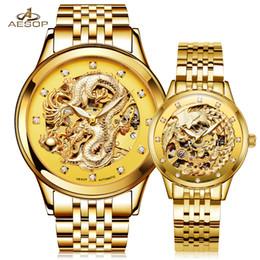 $enCountryForm.capitalKeyWord NZ - AESOP Lovers Watch Men Women Automatic Mechanical Wristwatch Wrist Couple Ladies Male Clock Relogio Masculino Montre Femme 40