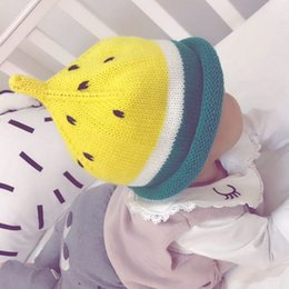 $enCountryForm.capitalKeyWord Canada - 2018 Cotton Children Autumn Winter Cartoon Pattern Warm Hats Cute Boys Girls Kids Baby Watermelon Knitted Caps Photography Props