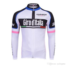 8e52738a90c62 Men long sleeve cycling jersey Tour de Italy Ropa Ciclismo Bicycle Cycling  Clothing Quickdry Racing Bike Sportswear china cheap clothes B172