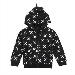 $enCountryForm.capitalKeyWord UK - Autumn Winter Kids Baby Girls Zipper Hoodie Dinosaur Sweater Sweatshirt Coat Jacket Clothes