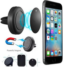 Wholesale Car Mount Phone Holder Air Vent Magnetic Universal Car Mount cell phone holder One Step Mounting Reinforced Magnet Easier Safer Driving