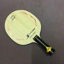 Горячая распродажа! ZLC Настольный теннис пинг-понг ракетки высокого качества пинг-понг лезвие / bat / base Горизонтальный захват
