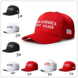 Make America Great Again Hat Donald Trump Republican Snapback Sports Hats  Baseball Caps USA Flag Cap LC944-1 553b451cd49d