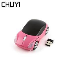 ef34dffac3e Wireless Car Computer Mouse Australia - CHUYI Car Shaped Wireless Mouse  Optical Computer USB Mini 2.4