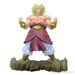 Dragon Ball Z Kai Broli Action Figure Super Saiyan Broly Poupée PVC ACGN Figure Jouet Brinquedos Anime 22.5CM en Solde
