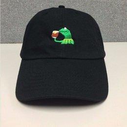 Kermit Hat kermit Meme Hat Rare Exclusive Instagram Famous Tumblr Hat Men's Baseball Caps