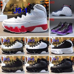 $enCountryForm.capitalKeyWord NZ - Free Shipping Kids 9 basketball Shoes [LA] 9s Sneakers Kids Size 28-35 For sale