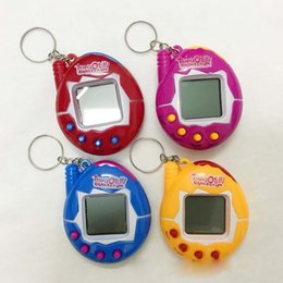 Chinese  Tamagotchi Digital Pets Retro Game egg shells Vintage Virtual Cyber Pets Funny Toy Mini E-Pets for Child Kids Adult Christmas Gift NEW 2018 manufacturers