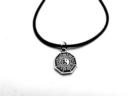 ying yang necklaces 2019 - NPC-Antique silver Simple Taiji Bagua Map Feng Shui Pendant Necklace Chinese Style Fantastic Ying Yang Tai Chi Gossip Le