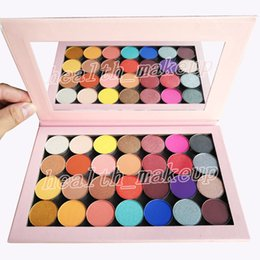 One Palette Australia - new makeup 28 colors eyeshadow one open Empty Large Pro Palette matte metallic and satin Pressed powder palette eye shadow Cosmetics
