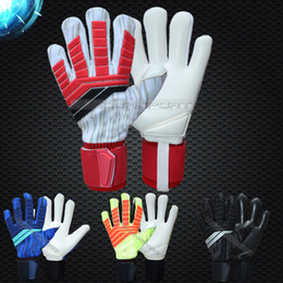 Jusdon Predator Allround Latex Football Professionnel Gants Gardien Gardien sans doigtsave FootballBola De Futebol Gants Luva De Goleir