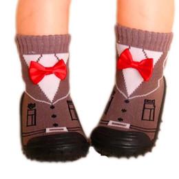 $enCountryForm.capitalKeyWord NZ - 5 Pairs Lot Baby Toddler Floor Socks Children Boy Girl Socks Soft Bottom Non -Slip Newborn Infant Shoes Socks With Rubber Soles Ews933yd