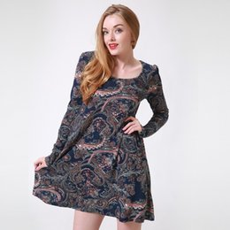 China 3.28 Winter Women Floral Print Mini Dress Female Sexy A-Line Flower Long-Sleeve Casual New Year Festival Short Party Dresses supplier festival dresses short suppliers