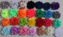 "$enCountryForm.capitalKeyWord NZ - 15y 1.5"" petite chiffon shabby flowers for girls hair accessories,chiffon rose flowers for baby headbands,diy craft flower supplies"