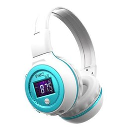 $enCountryForm.capitalKeyWord NZ - Zealot B570 Bluetooth earphone Wireless Stereo Headphone Stereo Handsfree Headband Earphone With Mic, FM Radio, TF Card Slot retail box