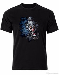 Gothic Style Clothes Australia - T-Shirt 2017 Clown in Smoke Gothic Horror Style Punk Mens t-Shirt Tee Shirt Top AK18 Anime Casual Clothing