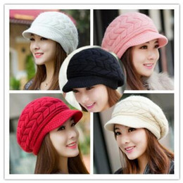$enCountryForm.capitalKeyWord Canada - Winter hats han edition tide female cute knitted hat Rabbit fur cap qiu dong the day ladies fashion hat 8 Colors