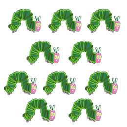 $enCountryForm.capitalKeyWord UK - Patches for Clothes Iron on Applique Funny Insect Stripe Sew Embroidery Patch for Child Jacket Cartoon Animal Accessories 10 PCS