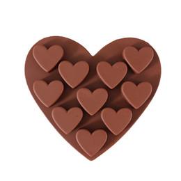 $enCountryForm.capitalKeyWord NZ - Silica Gel Cup 10 Even Small Love Chocolates Model Cake decorating Mould baking tools Round confeitaria silicone mold