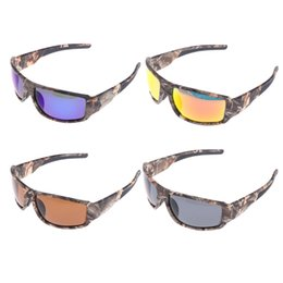 721307e5370 Camouflage Polarized Sunglasses UK - Cycling Glasses Sports Fishing  Sunglasses Bicycle Windproof Polarized Camouflage  20