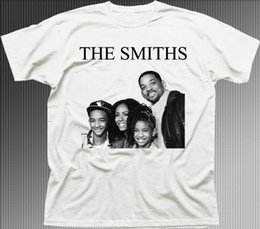 Music Man T Shirt Australia - T Shirt Sale Compression Men O-Neck Short-Sleeve The SMITHS Will Smith family funny music rock printed cotton t-shirt T Shirts