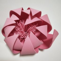 $enCountryForm.capitalKeyWord UK - Craft Supplies 10-50 CM Giant Foam Paper Flowers For Wedding Backdrops Decorations Kid's Room Deco Showcase Windows Display 1 Piece