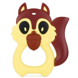$enCountryForm.capitalKeyWord UK - BPA-Free FDA-approved Silicone Baby Teething Toy, Cute Squirrel Shape Teether toy, Best for Sore Gums Pain Relief And Kids With Special Need